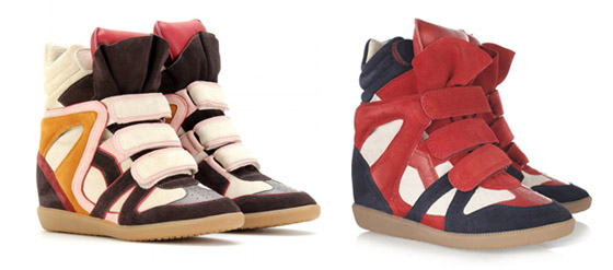Isabel Marant High Top Turnschuhe Sneaker