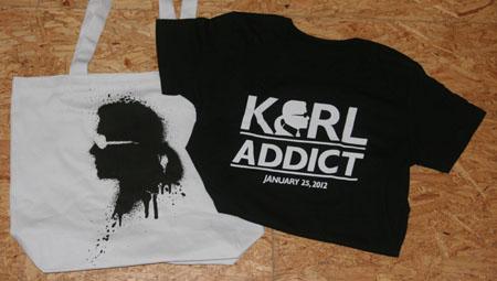Karl Lagerfeld Stoffbeutel