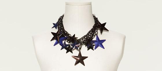 Kette von Zara mit Sternen