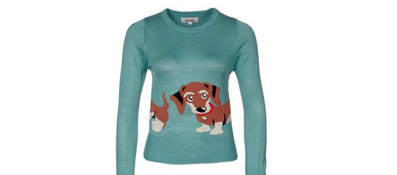 Louche SAMI SAUSAGE DOG Pullover