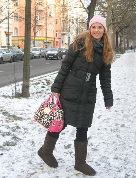 Marie im Schnee 1