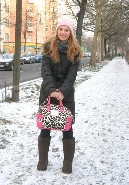 Marie im Schnee 2