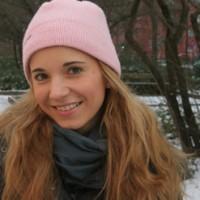 Marie im Schnee