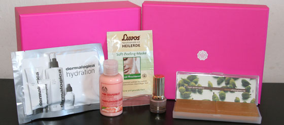 Meine Glossy Box vom Januar 2012