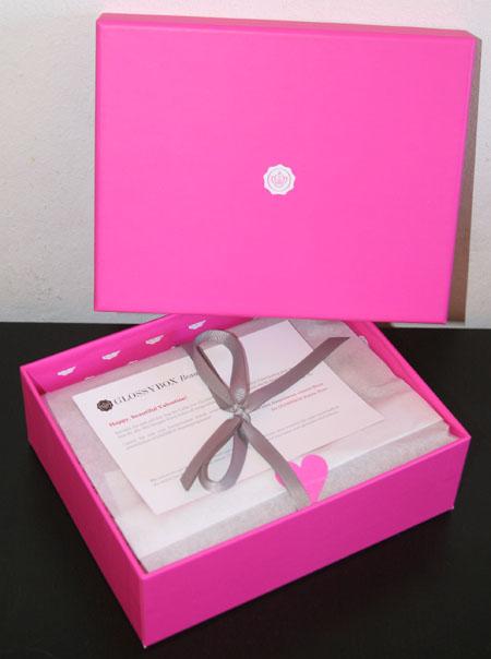 Meine pinke Glossy Box vom Januar 2012