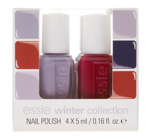Nagellacke von essie der Winter-Kollektion cocktail bling Set