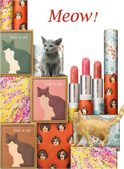 Paul & Joe Frühjahrs Make up Kollektion Kittens 2