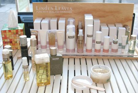 Produktproben von Linden Leaves