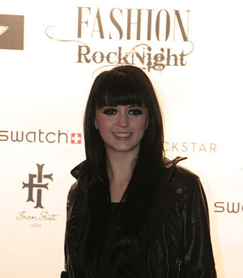 Ria Schenk von Eisblume bei der Fashion Rock Night 2012