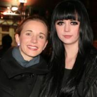 Ria Schenk von Eisblume mit mir bei der Fashion Rock Night 2012