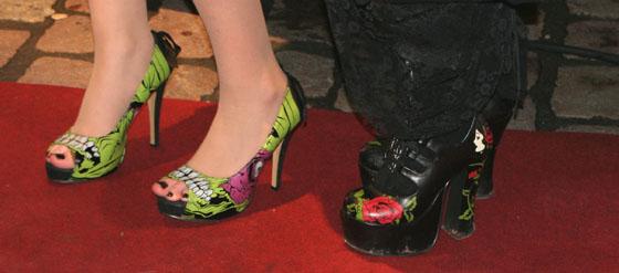 Schuhspion auf der Fashion Rock Night 2012