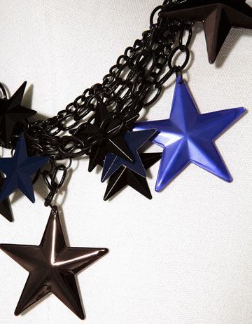 Sternenkette von Zara Detail