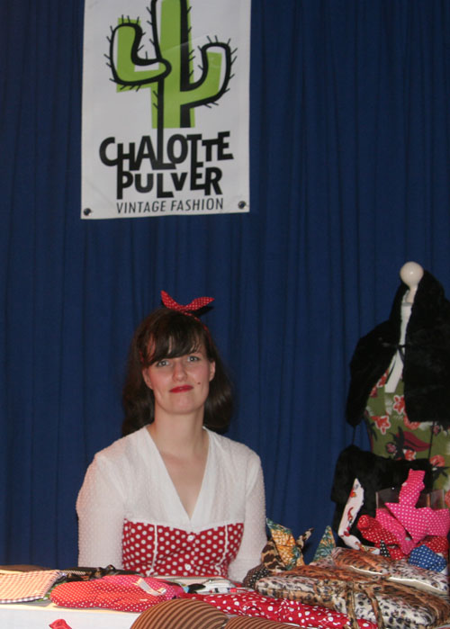 Charleen von Chalotte Pulver auf der Toast & Jam