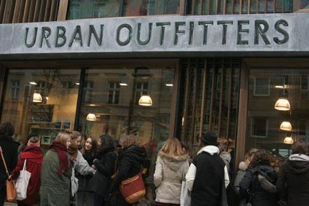 Urban Outfitters Store Eröffnung Berlin