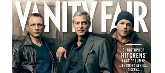 Vanity Fair Februar 2012 Daniel Craig, George Clooney, Matt Damon