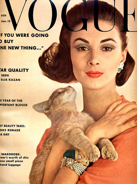 Vogue Cover 1962 Wilhelmina Cooper