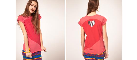 ASOS Heidi Klum Coca-Cola Light T-Shirt
