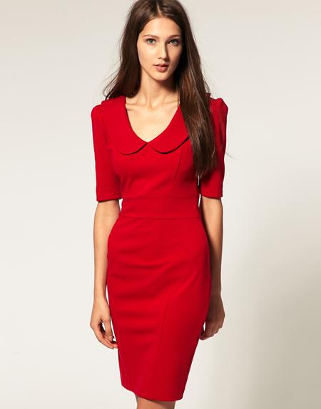 ASOS rotes Kleid 1