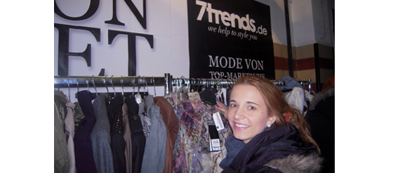 Beim 7trends Fashion Outlet Sale in Berlin