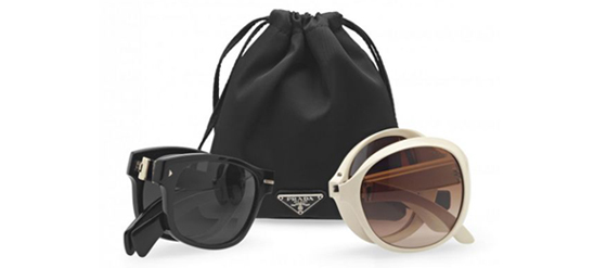 Die Prada Sonnenbrillen Folding in Love