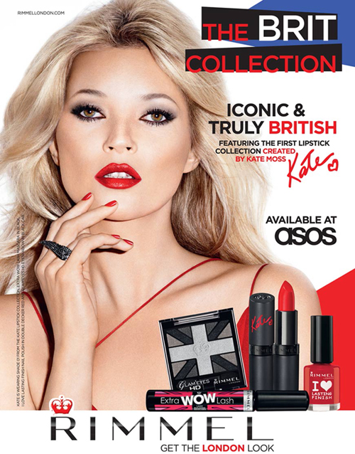 Kate Moss für Rimmel London Make-up 1