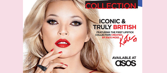 Kate Moss für Rimmel London Make-up