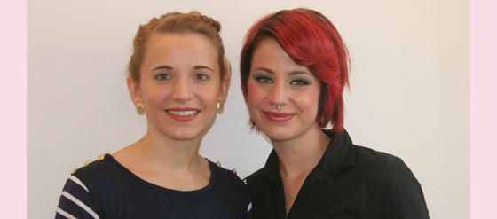 Laura von HairColada und ich
