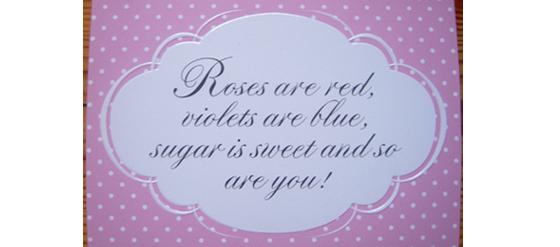 P&C Valentinskarte