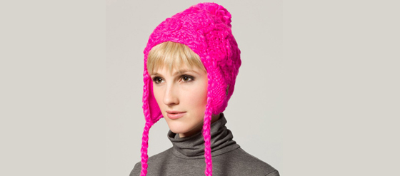 Pinke Mütze von Chaos