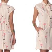 Flamingo-Kleid von Vero Moda