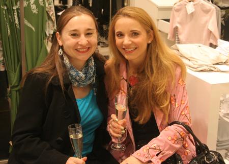 Grazia Style Night by P&C Berlin mit meiner Schwester und ich