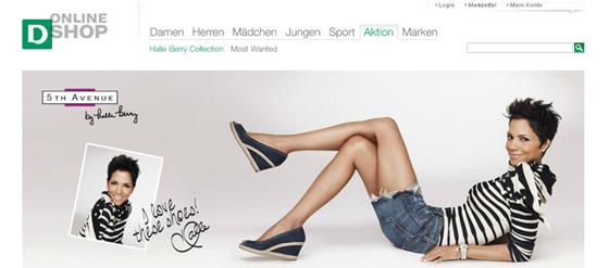 Halle Berry Schuh-Kollektion für Deichmann