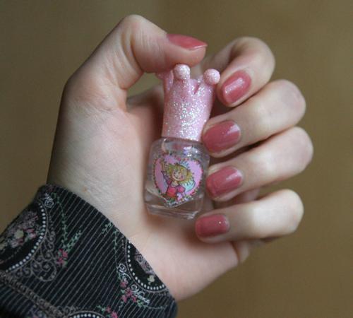 Mein Krönchen-Nagellack von Prinzessin Lillifee