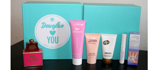 Meine Douglas Box of Beauty vom März 2012