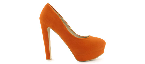NELLY SHOES LIPSI Orange von Nelly