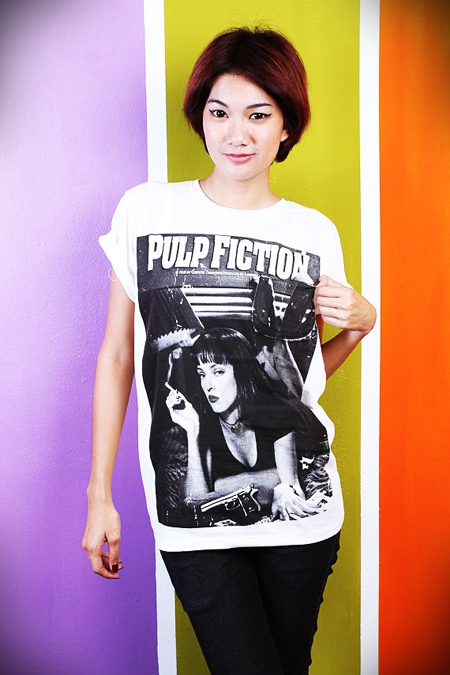Pulp Fiction Shirts mit Uma Thurman 2