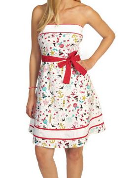 Pussy Deluxe Kleid weiß
