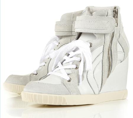 Sneaker Wedge von topshop