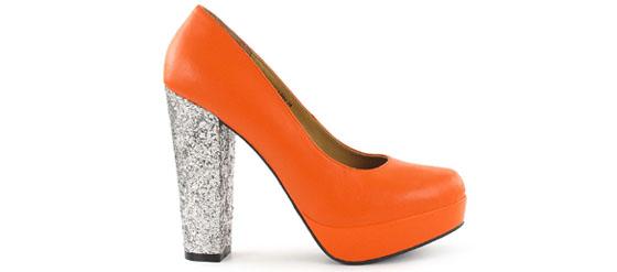 SUGARFREE SHOES LIBBY Orange von Nelly