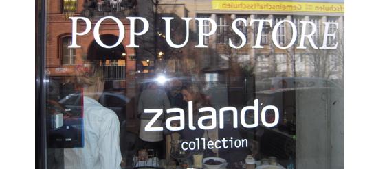 Zalando Collection Pop Up Store Berlin