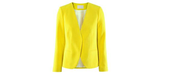 Blazer H&M gelb