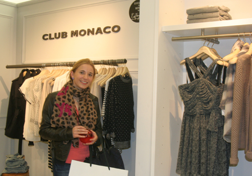 Club Monaco Shop Opening in der Galeries Lafayette Berlin 1