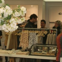 Club Monaco Shop Opening in der Galeries Lafayette Berlin
