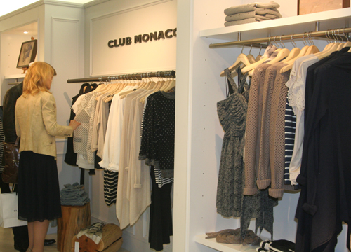 Club Monaco Shop Opening in der Galeries Lafayette Berlin 5