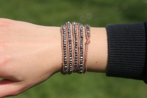 Club Monaco Wickelarmband