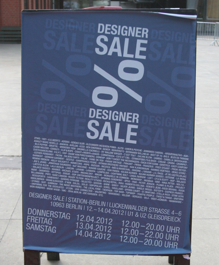 Designer Sale Shooping in Berlin 8