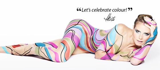 ASTOR & Heidi Klum: Let's celebrate colour - GlamourSister.com