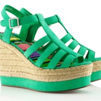 H&M Fashion Against Aids Kollektion 2012 Wedges
