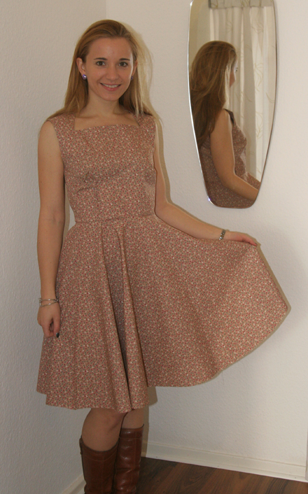 Mein Chalotte Pulver Kleid