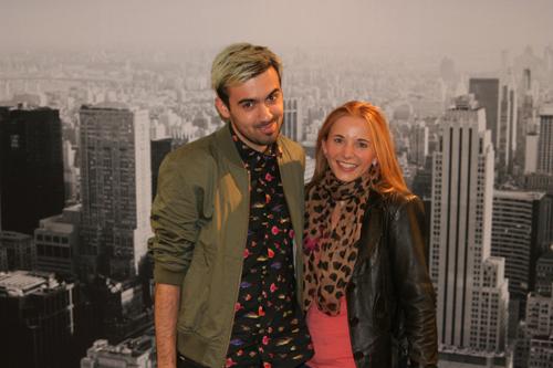 mit Dario von Stil in Berlin